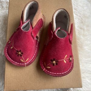 Pipit Suede Baby Walking Shoes